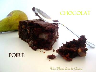 gâteau chocolat poire2