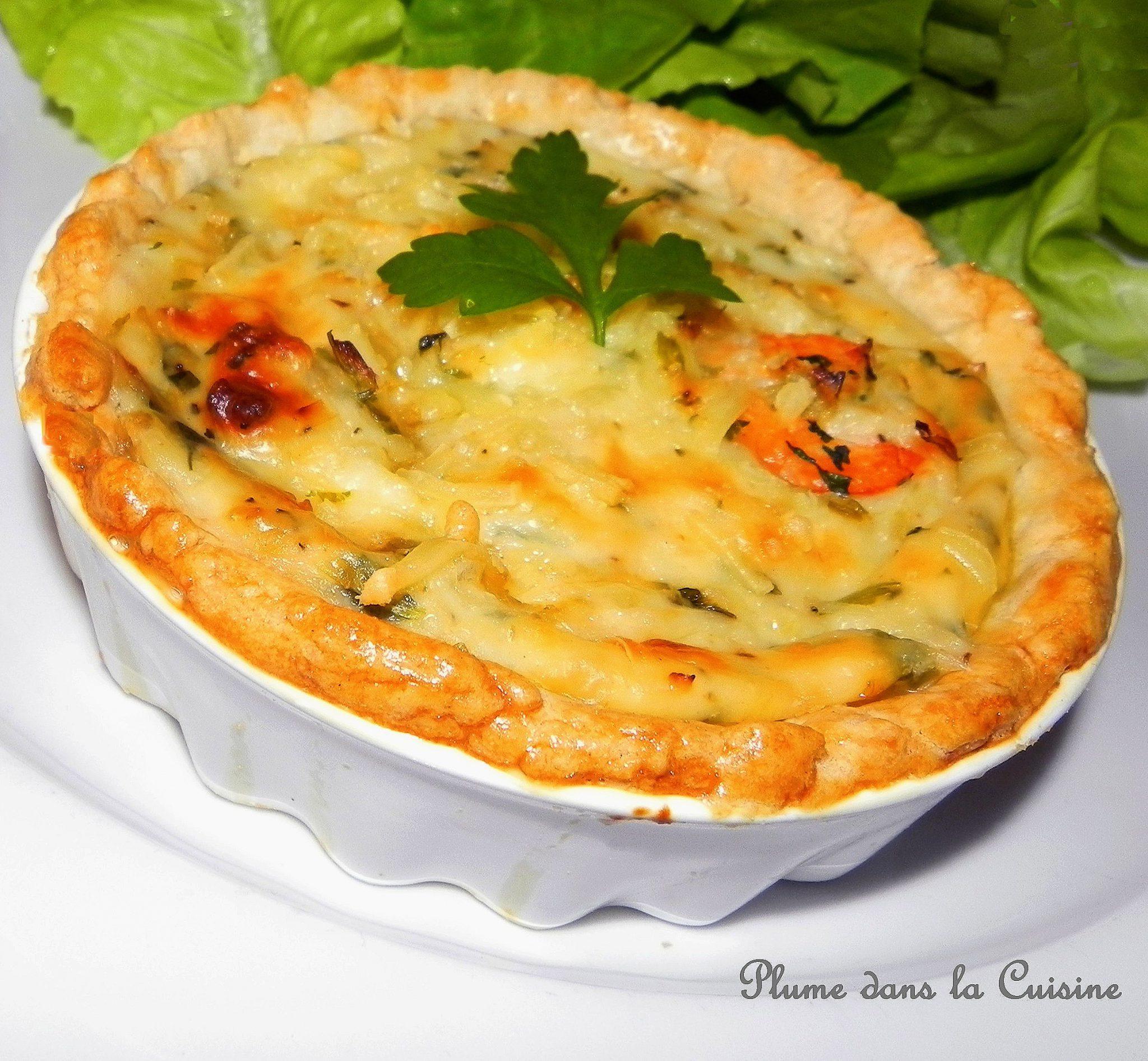 Tarte aux crevettes antillaise une plume dans la cuisine - Cuisine antillaise facile ...