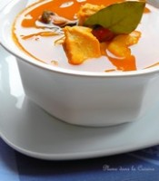 Soupe de poisson Sudoise