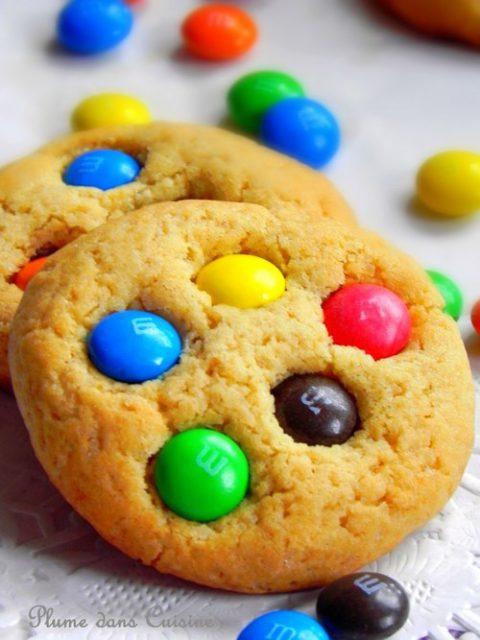 Biscuits-m&m's