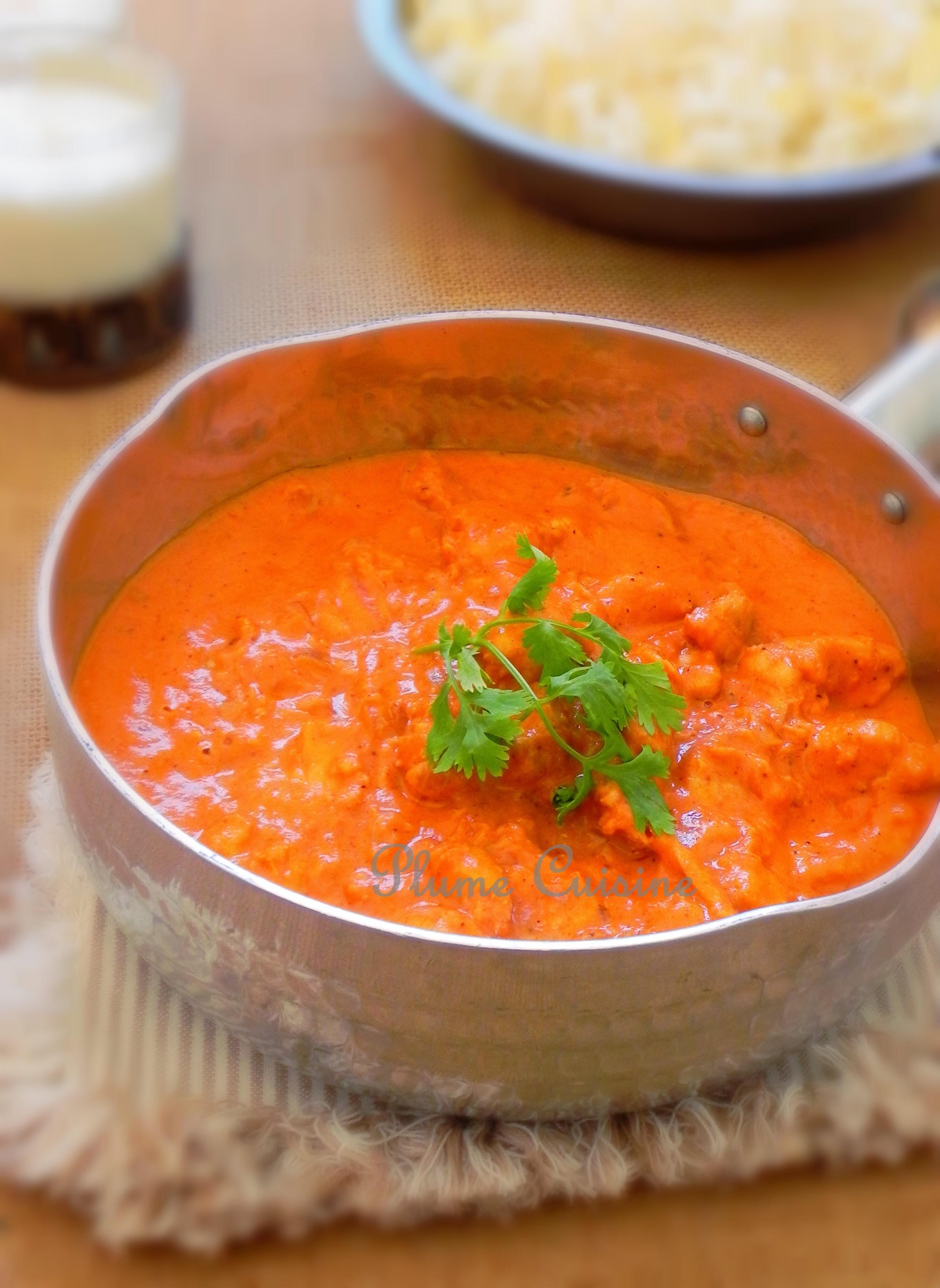 Poulet au beurre (Chicken Makhani )