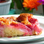 Cobbler aux fraises / Strawberries cobbler