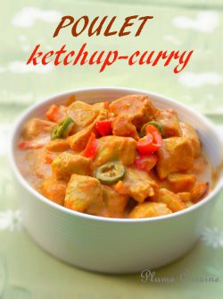 poulet-ketchup-curry