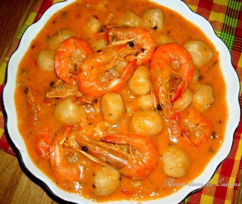 dombrés-crevettes