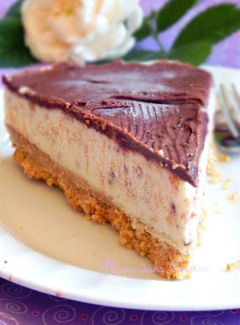 Cheesecake-glacé-banane-chocolat