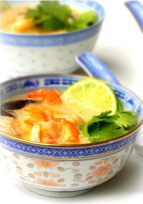 soupe-thaï-crevettes-facile