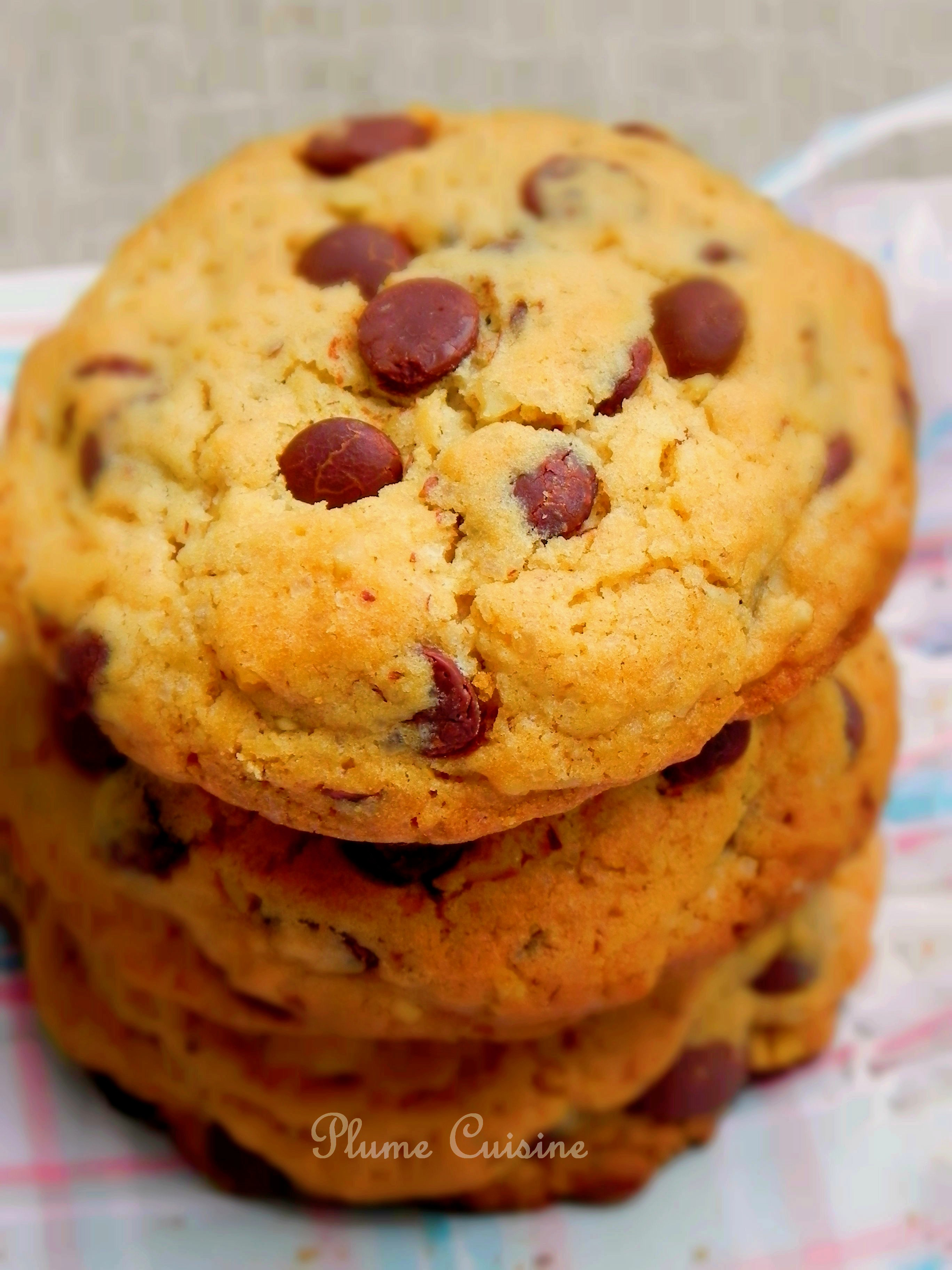 Cookies aux pépites de chocolat (cookies Américains)