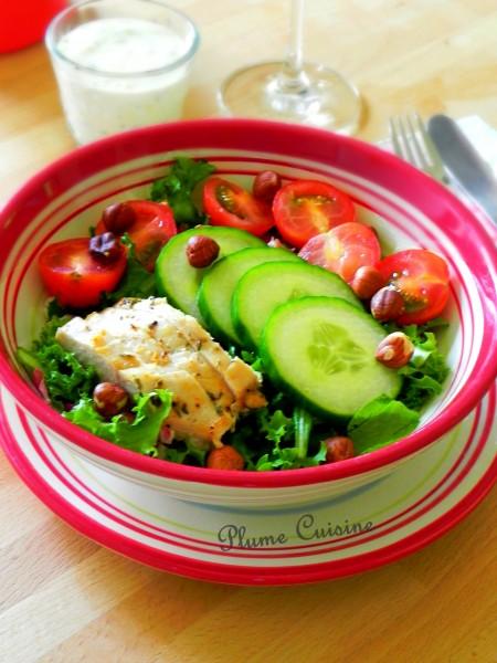 salade poulet sauce bleue (11)