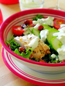 salade poulet sauce bleue (6)