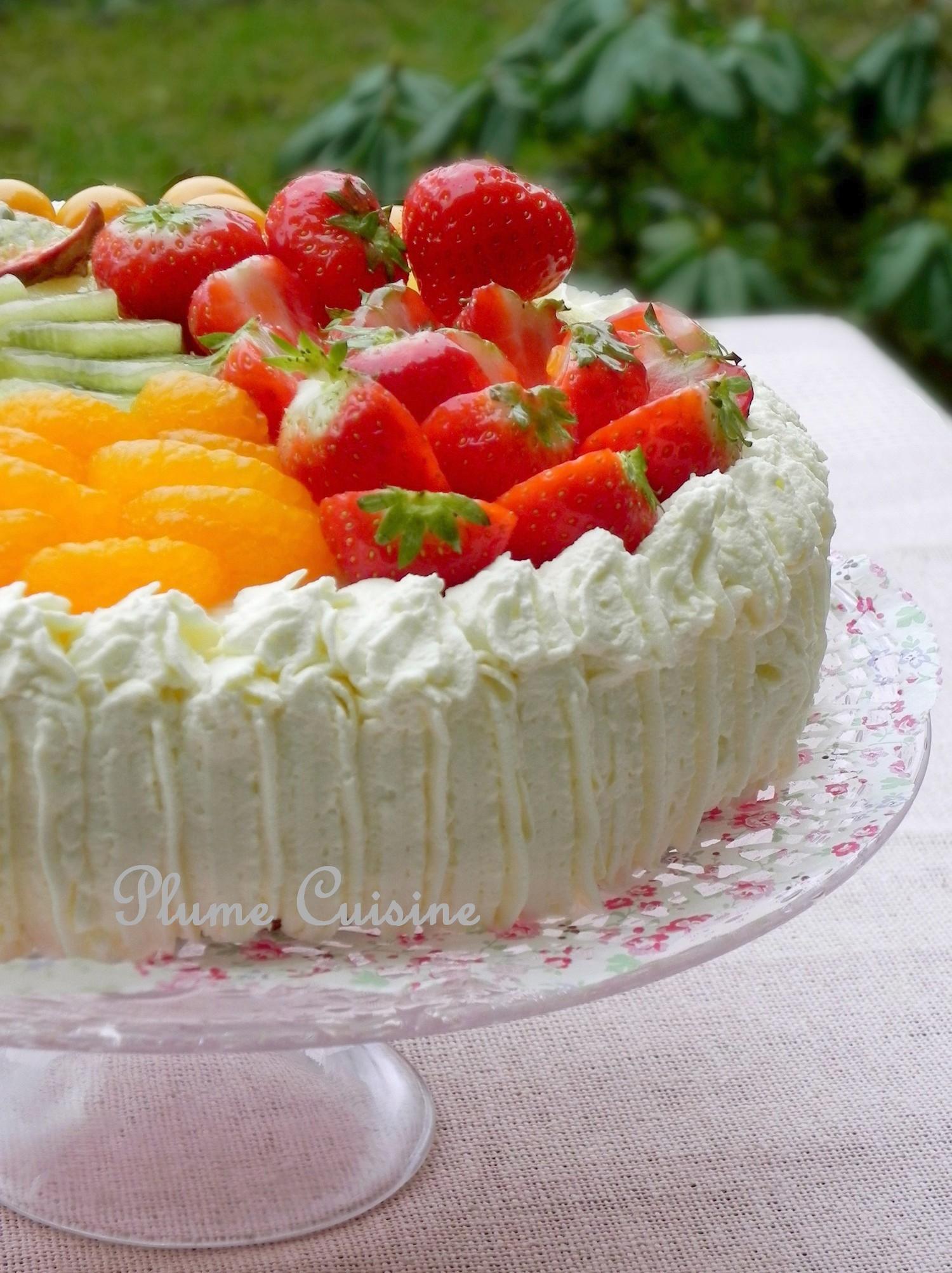 Gâteau Tutti Frutti antillais
