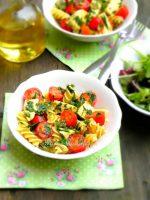 pâte-tomate-mozzarella