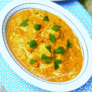 Poulet Indien au Curry (Murgh Kari)
