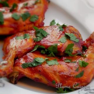 Poulet barbecue (BBQ) au four
