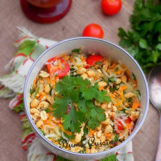 Salade de papaye verte thaïlandaise (Som Tam)