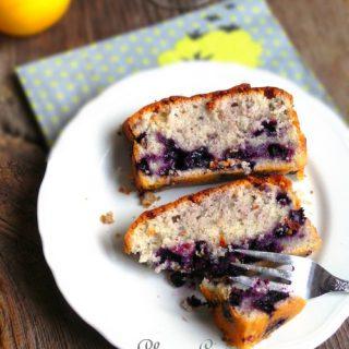 Cake myrtilles et citron